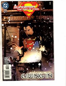 9 Superman Man Of Steel DC Comic Books #126 127 128 129 130 131 132 133 134 J214