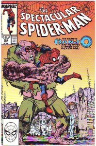Spider-Man, Peter Parker Spectacular #156 (Nov-89) NM- High-Grade Spider-Man