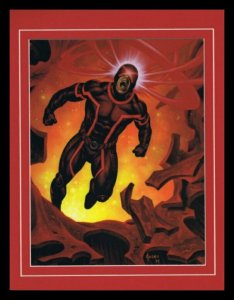 X Men Cyclops Framed 11x14 Marvel Masterpieces Poster Display