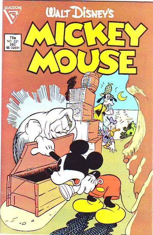 Mickey Mouse, Walt Disney's #221 (Dec-86) NM/NM- High-Grade Mickey Mouse, Goofy