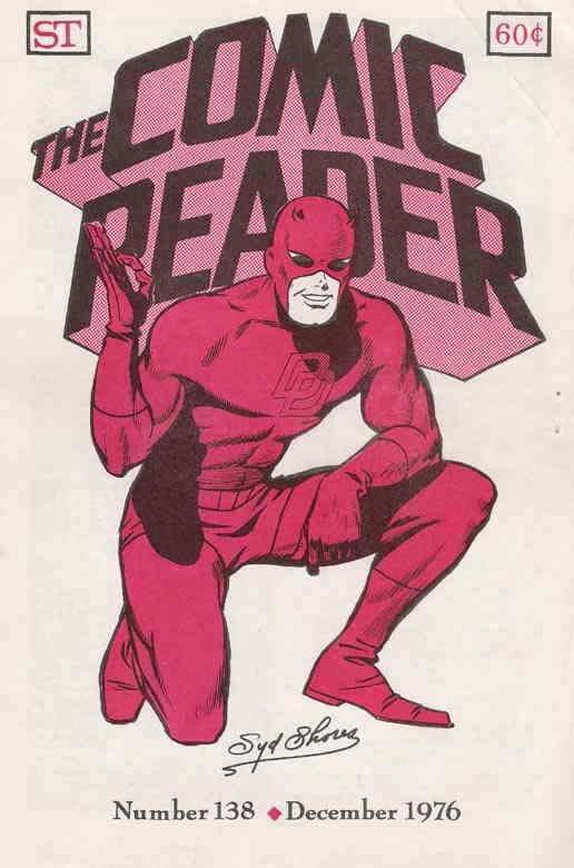 Comic Reader, The #138 VF; Street Enterprises   save on shipping - details insid