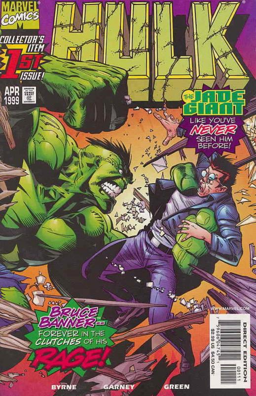 Hulk #1 VF/NM; Marvel | save on shipping - details inside