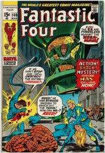 Fantastic Four #108, 5.0 or Better *KEY* Origin Janus the Nega-Man