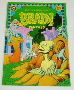 Brain Fantasy #1 FN (1st) last gasp underground comix george metzger rick shubb