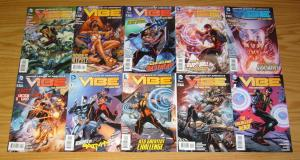 Justice League of America's Vibe #1-10 VF/NM complete series - dc comics new 52