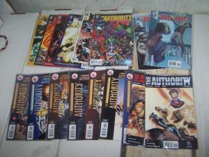 The Authority # 0 1 2 5 6 7 8 10 12  vol 2(  DC/ wildstorm ) + 1 2 vol 4 + vol 5