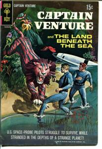 Captain Venture #1 1968-Gold Key-Land Beneath The Sea-1st issue-sci-fi-VG/FN