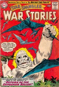 Star Spangled War Stories #111 (Nov-63) VG Affordable-Grade Dinosaur