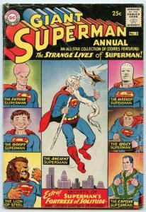 Superman Annual 3 Jun 1961 VG- (3.5)