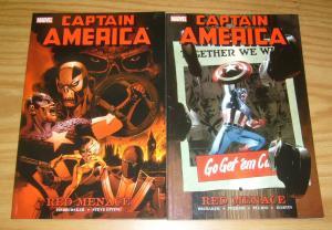 Captain America: Red Menace TPB 1-2 VF/NM complete series - ed brubaker 15-21