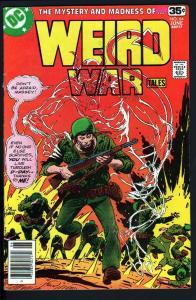 WEIRD WAR TALES #64-1978-FIRST FRANK MILLER DC ART