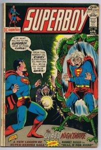 Superboy #184 ORIGINAL Vintage 1972 DC Comics Origin Dial H For Hero