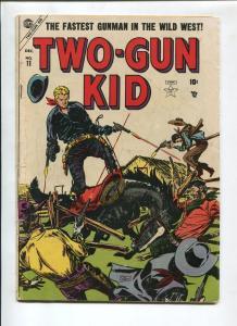 TWO-GUN KID #11 1953-ATLAS-SYD SHORES-BLACK RYDER-VG