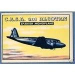 1952 Topps Wings C.A.S.A. 201 ALCOTAN #184 VG