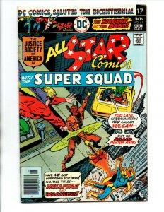 All Star Comics #61 newsstand - Wally Wood - Power Girl - JSA - 1976 - FN/VF