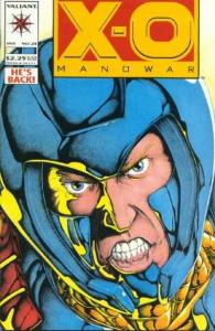 X-O Manowar (1992 series) #24, VF+ (Stock photo)