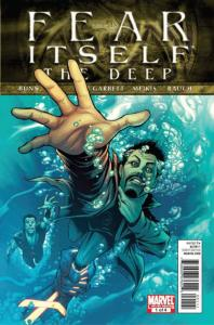Fear Itself: The Deep #1 VF; Marvel   save on shipping - details inside