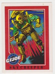 1991 Impel G.I. Joe Card #119 Skycreeper