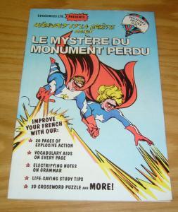 Et La Comete #1 FN educomics - megavolt - learn to speak french with this comic