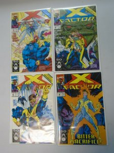 X-Factor run #65-68 all 4 Endgame issues 8.0 VF (1991 1st Series)