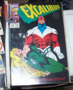 Excalibur # 64 APR 1993  Marvel  x men NIGHTCRAWLER  KITTY PSYLOCKE
