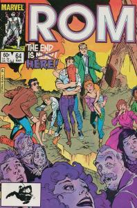 Rom #64 FN; Marvel | save on shipping - details inside