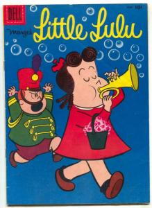 Marge's Little Lulu #126 1958- Dell Silver Age humor comic VG
