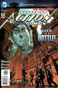 Action Comics (2011 series) #7, VF (Stock photo)