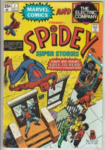 Spidey Super Stories #1 (Oct-74) NM/NM- High-Grade Spider-Man
