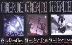 GRENDEL DEVIL INSIDE (2001 DH) 1-3 Matt Wagner COMPLETE