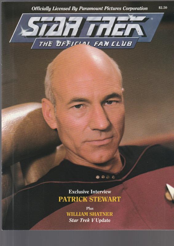 Star Trek Official Fan Club Magazine #61