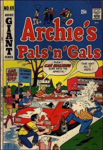 Archie Comics ARCHIE'S PALS 'N GALS #69 VG