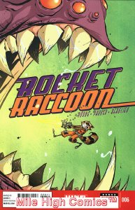 ROCKET RACCOON  (2014 Series)  (MARVEL) #6 Very Good Comics Book