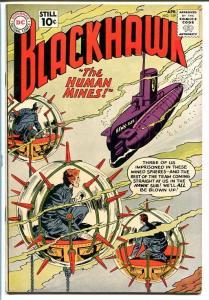 BLACKHAWK COMICS #159-PUPPET MEN-FLYING SAUCER STORY! FN+