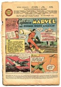 Whiz Comics #142 1952- Captain Marvel- coverless reading copy