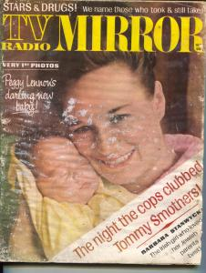 TV Radio Mirror-Barbara Stanwyck-Vivian Leigh-Oct-1967