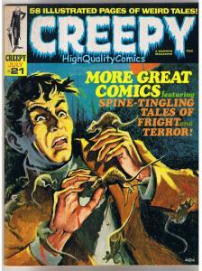 CREEPY #21, VF, Warren, Steve Ditko, Vampires, Williamson, more mags in store