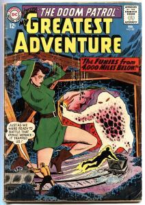 MY GREATEST ADVENTURE #85 1964-DOOM PATROL-DC-LAST ISSUE