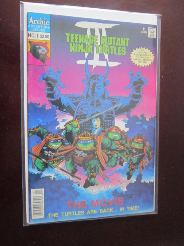 Teenage Mutant Ninja Turtles III The Movie #1B - 6.0 - 1993