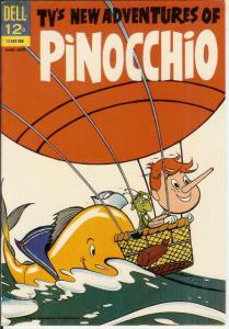 NEW ADVENTURES OF PINOCCHIO 2 F  June-Aug 1963 COMICS BOOK