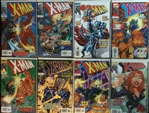 X MAN MARVEL (1995)#41-48 NM CONDITION 8 BOOK LOT