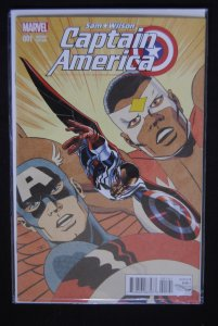 Sam Wilson Captain America 1, Variant Edition, Rare