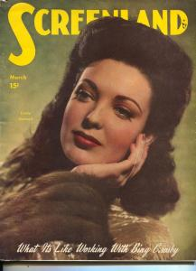 ScreenLand-Linda Darnell-Gregory Peck-Kirk Douglas-Ella Raines-Mar-1949