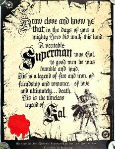 Superman  Kal  1994 DC Comics PROMO Poster