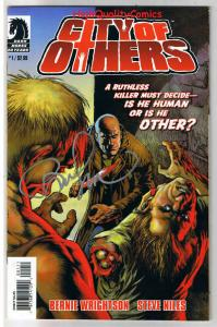 CITY OF OTHERS #1 2 3 4, NM+, Signed Bernie Wrightson, Zombies, Horror, 1-4 set