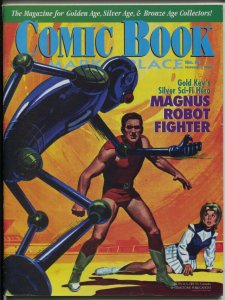 Comic Book Marketplace #83 2000-sophisticated collectors fanzine-Magnus-FN