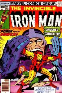 Iron Man (1968 series) #90, Fine+ (Stock photo)
