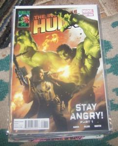 Incredible Hulk # 8 2012 marvel  bruce banner stay angry pt 1 immortal punisher