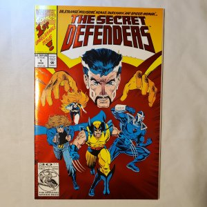 Secret Defenders 1 Very Fine/Near Mint Cover pencils by Andre Coates