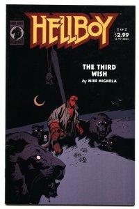 Hellboy: The Third Wish #1  comic book 2002- Dark Horse NM-